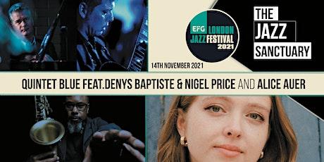 EFG London Jazz Festival 2021 - Quintet Blue plus Alice Auer tickets