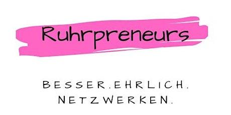 Ruhrpreneurs - Netzwerk /29.  Meet-Up Tickets