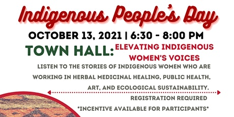 Indigenous People's Day Panel tickets