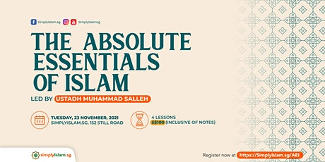 The Absolute Essentials of Islam tickets