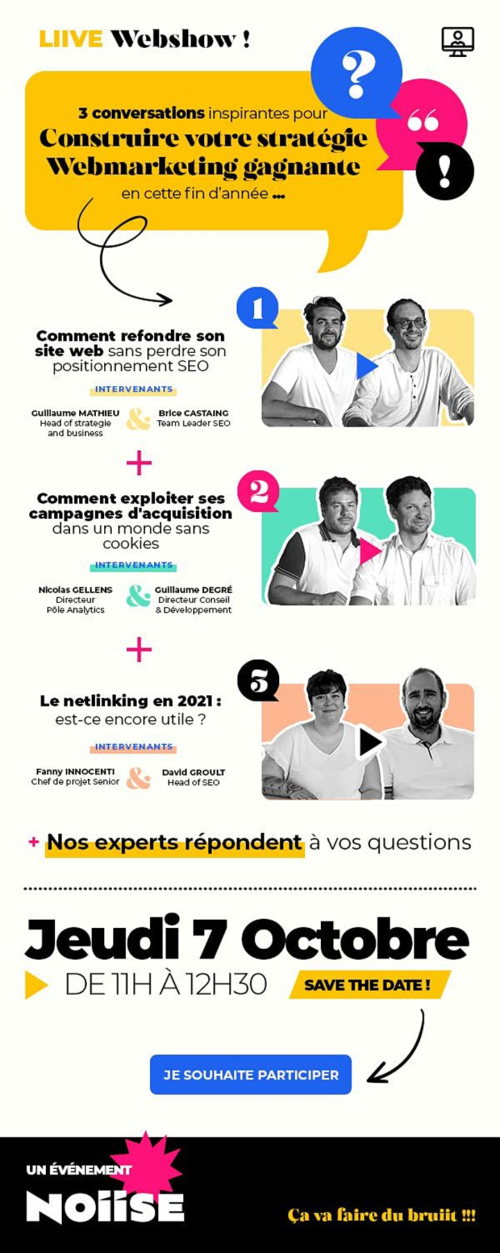 Image pour Webshow | Construire votre stratégie WebMarketing gagnante