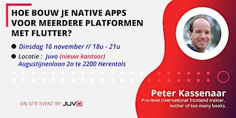 Hoe bouw je native apps voor meerdere platformen met Flutter? tickets