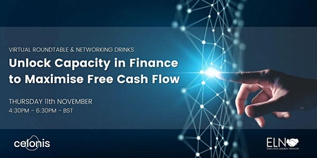 Virtual Roundtable with Networking Drinks - Unlock Capacity in Finance tickets