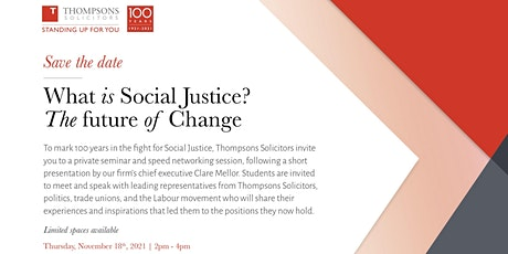 What is Social Justice? The future of Change tickets