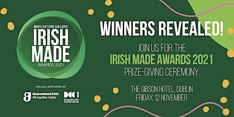 Irish Made Awards Ceremony tickets