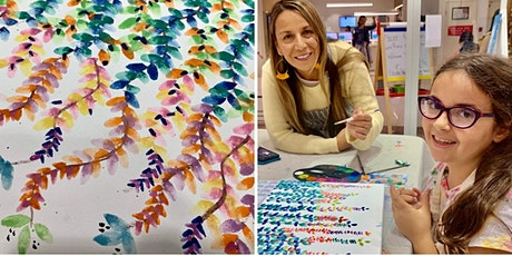 Watercolour Vines for kids tickets