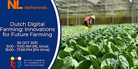 Webinar - Dutch Digital Farming tickets