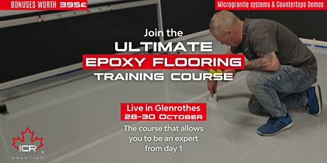 Epoxy Flooring Training Course by ICR Solution UK in Glenrothes Scotland tickets