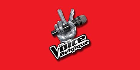 The Voice Belgique- Saison 10 - Blind Auditions 4 - 2 novembre soirée tickets