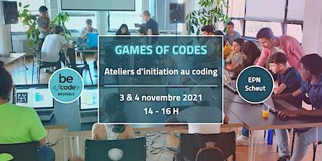 Game of Codes - Atelier Coding @EPN Scheut tickets
