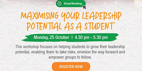 Maximising your Leadership Potential as a student tickets