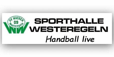 BL-WJD: SV Wacker 09 Westeregeln - HC Salzland 06 Tickets
