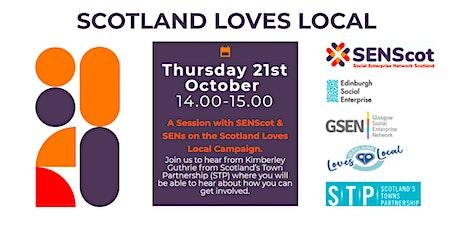 Scotland Loves Local SEN Session tickets