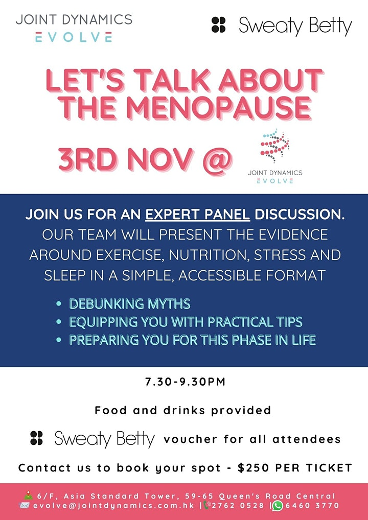 Let's Talk About The Menopause image