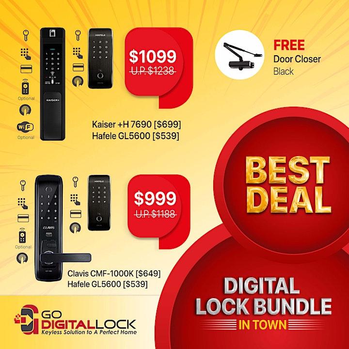 Great Digital Lock Bundle in Town image