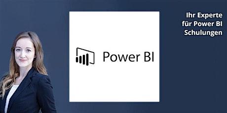 Power BI Datenmodellierung - Schulung in Hamburg Tickets