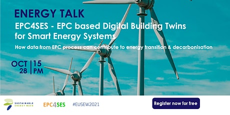 EnergyTalk - How data from  EPC process can contribute to energy transition tickets