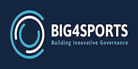 BIG4SPORTS Good Governance Schemes Training Session tickets