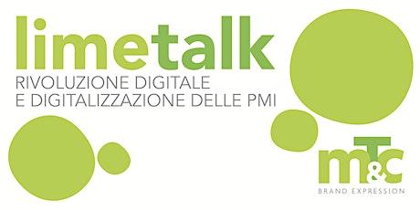limetalk - Rivoluzione digitale e digitalizzazione delle PMI biglietti