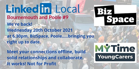#LinkedInLocal Bournemouth and Poole - We're back! tickets