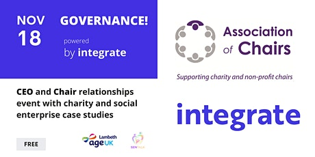 Chairs and Chief Executives - Good governance and effective boards tickets