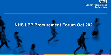 NHS LPP Procurement Forum tickets