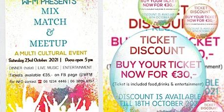 Mix Match & Meetup tickets