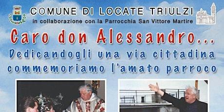 """PROIEZIONE """"Caro Don Alessandro..."""" biglietti"""