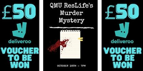 ResLife Murder Mystery tickets