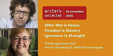 Writers Unlimited | Arnon Grunberg & Gerlinda Heywegen tickets