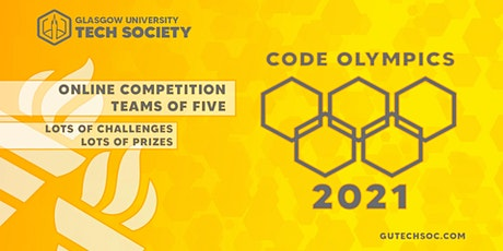 Code Olympics 2021 tickets
