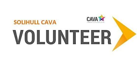 CAVA in Solihull Volunteer Opportunities Network tickets
