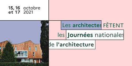 Journées nationales de l'architecture : tracé de la Fleur de Vie billets