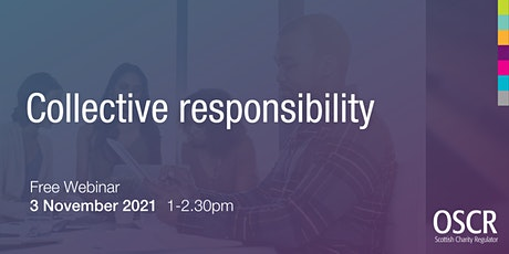 Collective Responsibility tickets