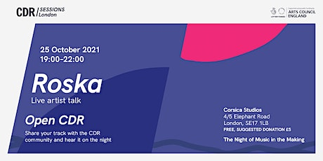 CDR  London with Roska tickets