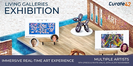 Living Galleries -  Virtual Interactive Art Exhibition tickets