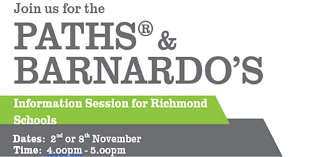 PATHS® Programme for Schools Information Session 2 tickets
