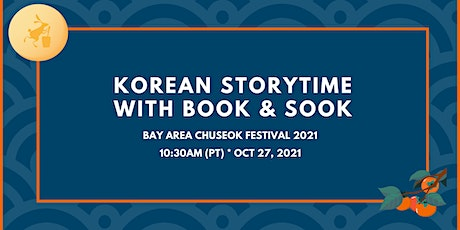 """Korean Storytime with """"Book & Sook"""" tickets"""