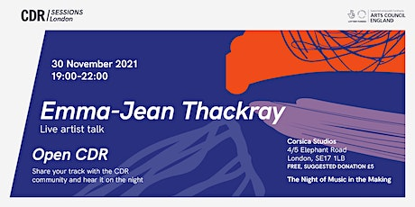 CDR London with Emma-Jean Thackray tickets