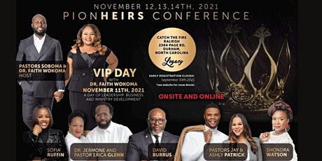 PionHeirs Conference tickets