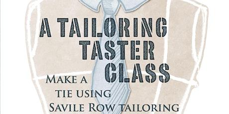 Tailoring taster class tickets