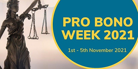 Pro Bono Week 2021 Panel Event: Pro Bono from the Past, Present and Future tickets
