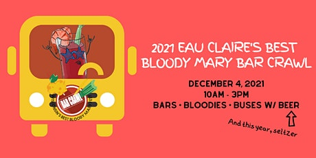 Eau Claire's Best Bloody Mary Bar Crawl tickets