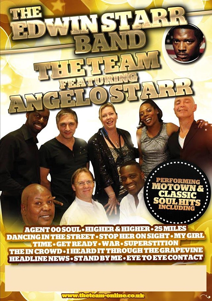 The Edwin Starr Band featuring Angelo Starr image