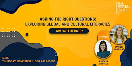 Asking the Right Questions: Exploring Global and Cultural Literacies entradas