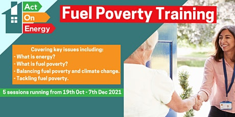 Fuel Poverty Training with Act On Energy tickets