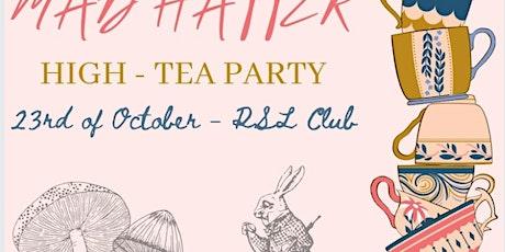 Miss Wagga Wagga Quest - Mad Hatter High Tea tickets