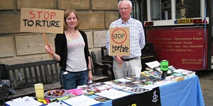 Stop Torture sub-group meeting and letter writing