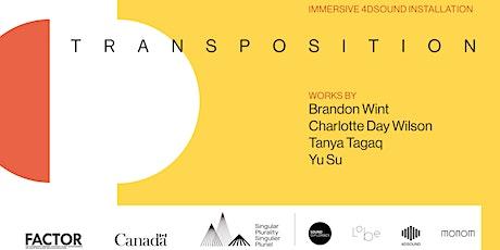 Transposition - Immersive 4DSOUND Installation - Frankfurt Tickets