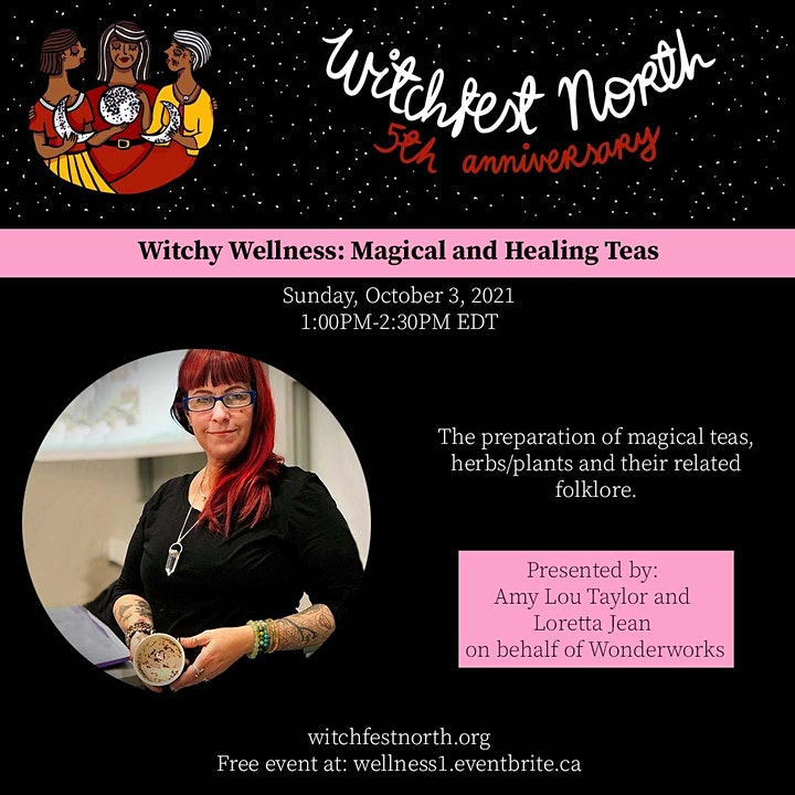 Magical and Healing Teas (Witchy Wellness #1) image